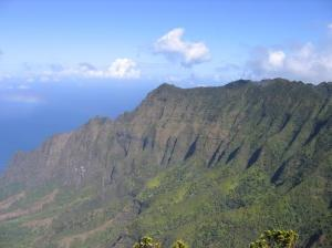 Napali Coast Overlook. I can't believe I was here!